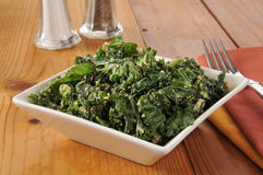 Kale salad Royalty Free Stock Images