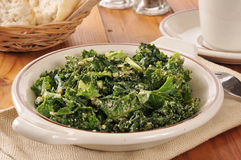Kale salad Stock Photography