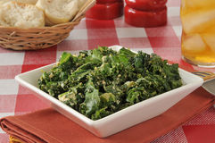 Kale salad Royalty Free Stock Photography