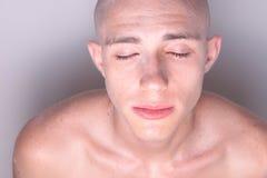 Kale Schitterende Mens Stock Foto's