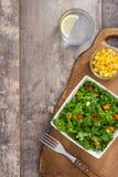 Kale składniki i sałatka obraz royalty free