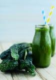 Kale smoothie Royalty Free Stock Image