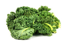 Kale on White Royalty Free Stock Image