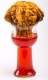 Kalebasser och röd pop II fotografering för bildbyråer