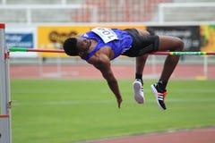 Kalebo Kgosiemang- high jump Stock Photos