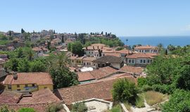 Kaleici - παλαιά πόλη - Antalya στην Τουρκία Στοκ Εικόνα