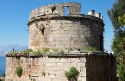 Όψη της παλαιάς πόλης (Kaleici), Antalya. Στοκ Εικόνες