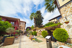 Kaleici old city in Antalya, Turkey Stock Photography