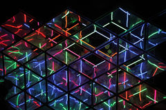 Kaleido Wall at Vivid Sydney Annual Festival Event Stock Photography