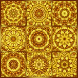Kaleidocsope 9. Kaleidoscope designed for relaxing leisure Stock Photos