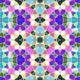 Kaleidoscop-Hintergrund stockbilder