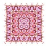 Kaleidoscop Rosa aufwändige Kunst vektor abbildung