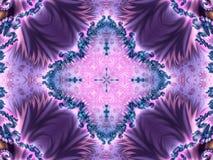 kaleidoscope богато украшенный иллюстрация штока