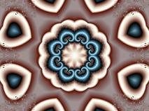 kaleidoscope сердец Стоковые Фотографии RF