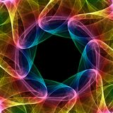 kaleidoscope фрактали иллюстрация штока