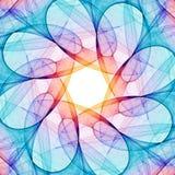 kaleidoscope фрактали Стоковое Изображение
