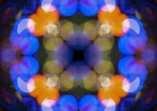 Kaleidoscope abstract background royalty free stock photo