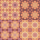 Kaleidoscope abstract colorful patterns Stock Photography
