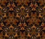 Kaleidoscope abstract seamless pattern Royalty Free Stock Image