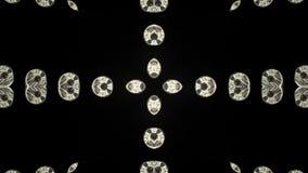 Kaleidoscope animation stock video