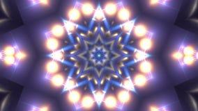 Kaleidoscope animation stock video footage