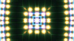 Kaleidoscope animation stock footage
