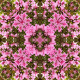 Kaleidoscope background Royalty Free Stock Image