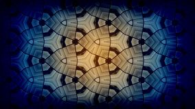 Kaleidoscope Background. Kaleidoscope Motion Pattern Loop Animation Background royalty free illustration