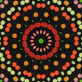 Kaleidoscope background Royalty Free Stock Images