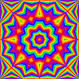 Kaleidoscope bright rainbow background. Vector illustration. eps 8 Royalty Free Stock Photo