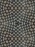 Kaleidoscope from circular lines. Kaleidoscope patterns from circular lines royalty free stock photography