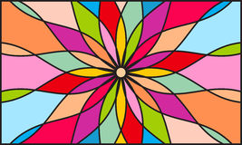 Kaleidoscope color background Royalty Free Stock Images
