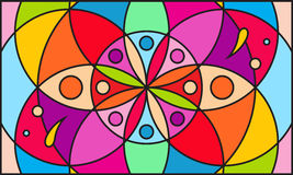 Kaleidoscope color background Stock Photos