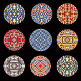 Kaleidoscope color circles Royalty Free Stock Image