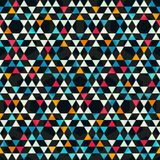 Kaleidoscope colored seamless pattern Stock Photos
