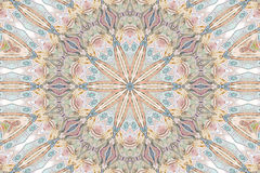 Kaleidoscope of colour and pattern Royalty Free Stock Photography