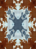 Kaleidoscope Cow Hide Pattern Royalty Free Stock Images