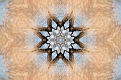 kaleidoscope crayon Стоковое Фото