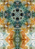 Kaleidoscope cross, chert layers Stock Images