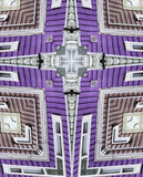Kaleidoscope cross: colorful house Stock Photography