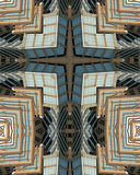 Kaleidoscope cross: Hearst Tower Stock Photography