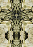 Kaleidoscope cross, Oregon coast boulders Royalty Free Stock Photos
