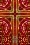 Kaleidoscope cross: Thai pavilion Stock Photography