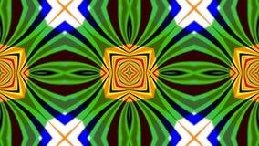 Kaleidoscope 2D HD 1080 stock illustration