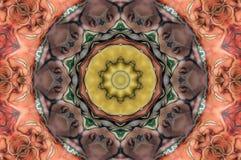 Kaleidoscope design Stock Image