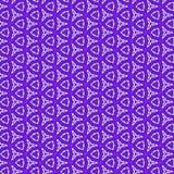 Unique kaleidoscope design of continuous pattern in violet. Kaleidoscope design of continuous pattern in violet Stock Image