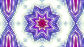 Kaleidoscope 70`disco. Abstract kaleidoscope, loop able, full HD stock video footage