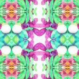 Kaleidoscope Flower. A kaleidoscope is an optical instrument with two or more reflecting surfaces inclined to each other in an angle, so that one or more parts vector illustration