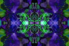 Kaleidoscope flower pattern Stock Photography