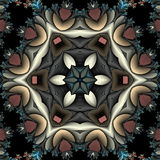 Kaleidoscope with fringe Stock Photography